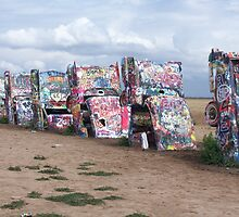 Cadillac Ranch by amandameans