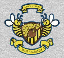 Honey Bees Coat of Arms One Piece - Long Sleeve