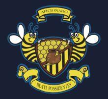 Honey Bees Coat of Arms Kids Tee