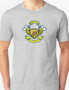 Honey Bees Coat of Arms Unisex T-Shirt