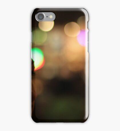 Deb at Night iPhone Case/Skin