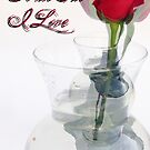 Valentines Day Card To The One I Love by Suni Pruett