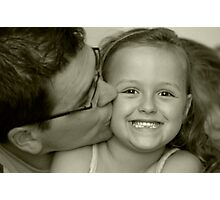 Kisses and Smiles Photographic Print