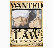 trafalgar law wanted poster Unisex T-Shirt