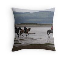 New Years Eve Ride Throw Pillow