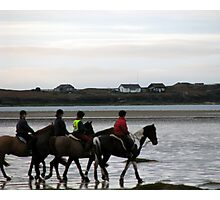 Riding with friends Photographic Print