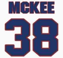 National Hockey player Jay McKee jersey 38 by imsport