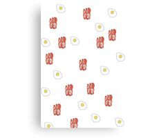 Bacon & Eggs Canvas Print