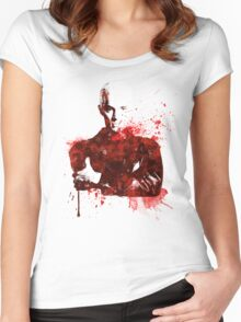 Splatter Spike Women's Fitted Scoop T-Shirt