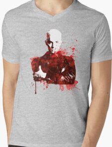 Splatter Spike Mens V-Neck T-Shirt