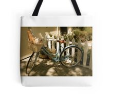 French Bicycle Tote Bag