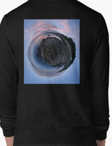 Moville Shoreline, Lough Foyle, at Dusk, Donegal Long Sleeve T-Shirt
