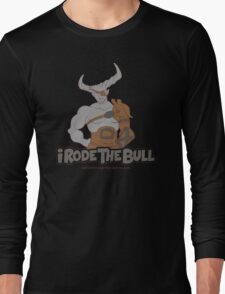 Riding the Bull Long Sleeve T-Shirt