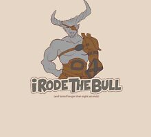Riding the Bull Womens Fitted T-Shirt