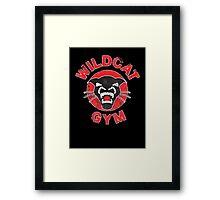 Wildcat Gym Framed Print