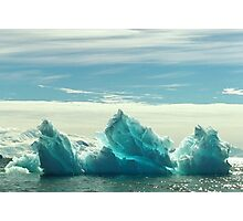 Blue Ice Photographic Print