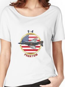F-4E Phantom USAF Women's Relaxed Fit T-Shirt