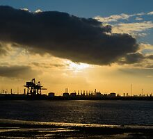 Industrial Silhouette by Michael Stubbs