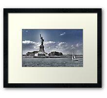 Statue of Liberty, New York City Framed Print