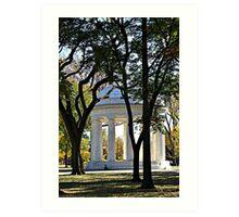 Architecture | Memorial  Art Print