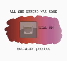"""Childish Gambino - """"Dial Up"""" by ThNTWRNG"""