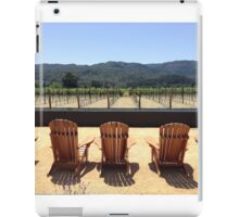 Wine Sipping and Sitting iPad Case/Skin