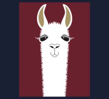 LLAMA PORTRAIT #3 One Piece - Short Sleeve