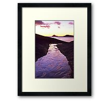Heavenly Path Framed Print