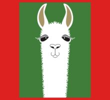 LLAMA PORTRAIT #2 Kids Clothes