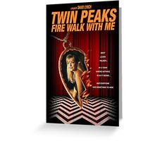 Twin Peaks: Fire Walk With Me Greeting Card