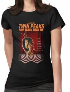 Twin Peaks: Fire Walk With Me Womens Fitted T-Shirt