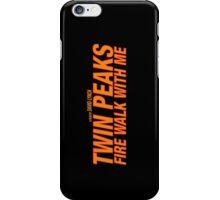 Twin Peaks: Fire Walk With Me iPhone Case/Skin