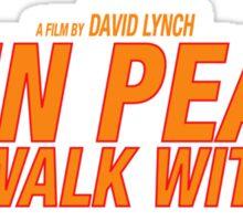 Twin Peaks: Fire Walk With Me Sticker