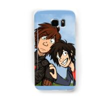 HTTAH - Hiccup and Hiro  Samsung Galaxy Case/Skin