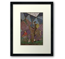 Picasso's Don Quixote Framed Print