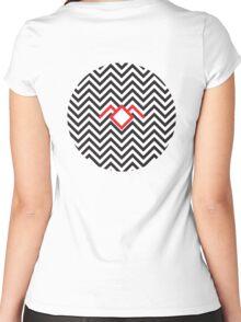 Twin Peaks - Black Lodge Women's Fitted Scoop T-Shirt