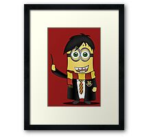Minion Harry Potter Framed Print