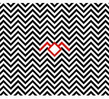 Twin Peaks - Black Lodge Photographic Print