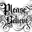 Please Believe Logotype by PleaseBelieve