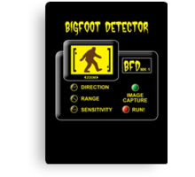 Bigfoot Detector Canvas Print