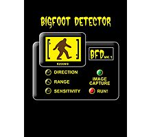 Bigfoot Detector Photographic Print