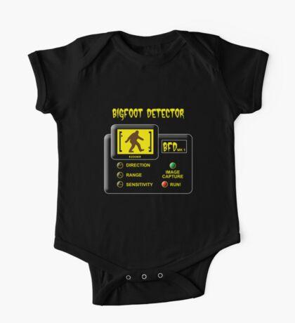 Bigfoot Detector One Piece - Short Sleeve