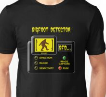 Bigfoot Detector Unisex T-Shirt