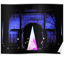 Grand Army Plaza a Night View Poster