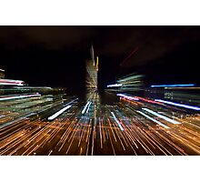 Rush Hour in the City Photographic Print