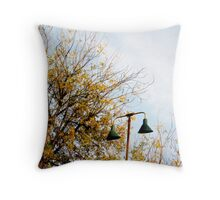 Lonely Light Throw Pillow