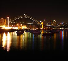 Sydney Harbour Bridge by Chris O'Neill