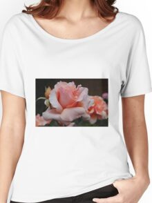 Peach Rose Women's Relaxed Fit T-Shirt