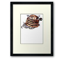 Full Metal Dalek | Doctor Who Framed Print