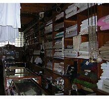 The drapery shop Photographic Print